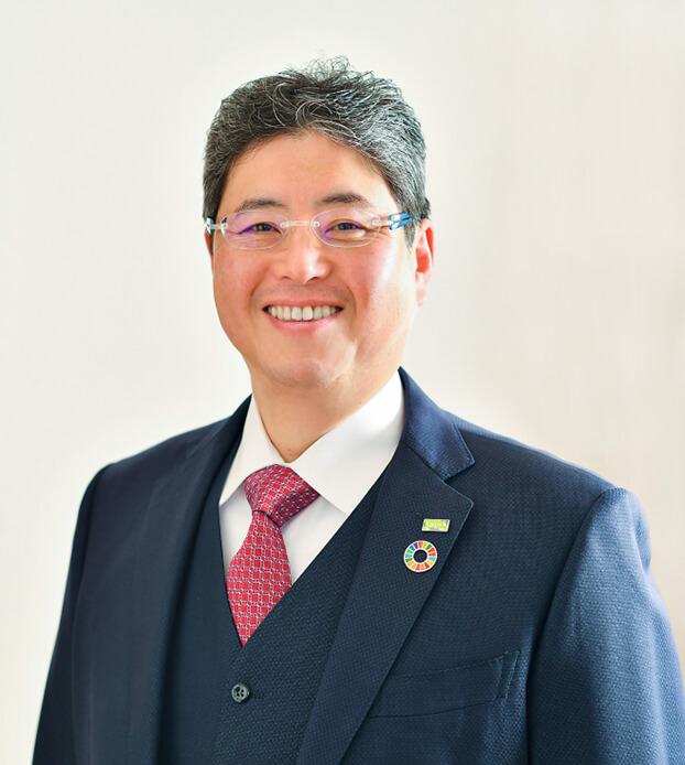 代表取締役兼CEO 川口谷 仁